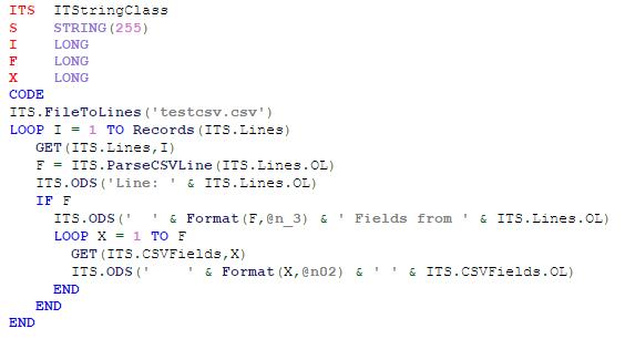 ParseCSVLine example code (image)